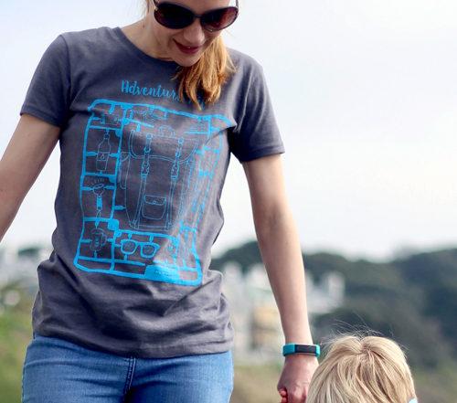 Adventure kit womens and childrens T-shirt