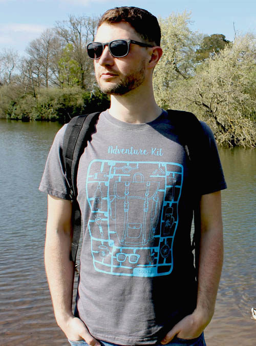 Mens adventure kit T-shirt