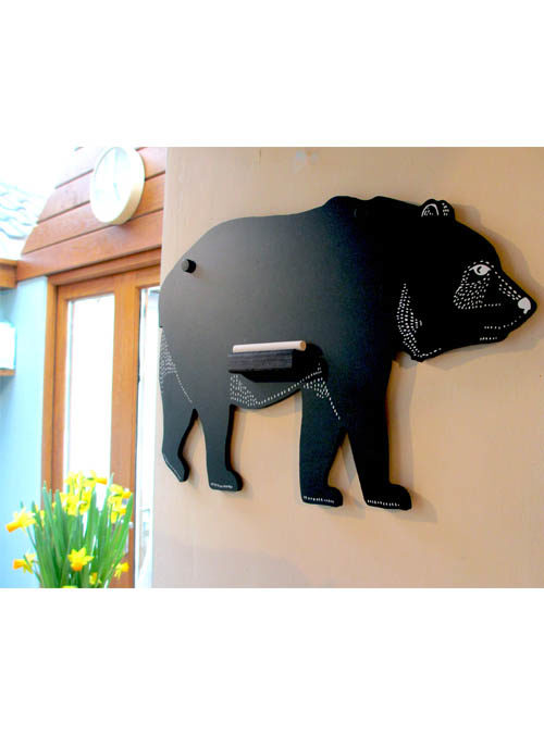 bear chalk board