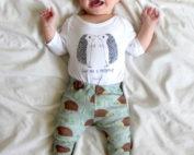 hedgehog baby leggings
