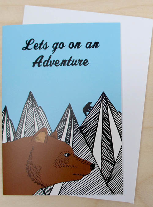 adventure card bear