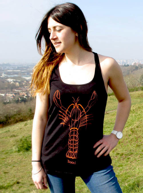 Womens lobster vest