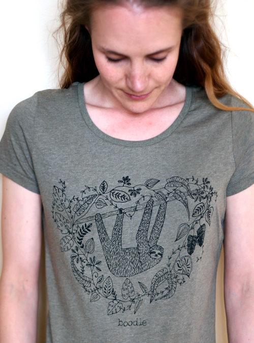 Sloth womens T-shirt